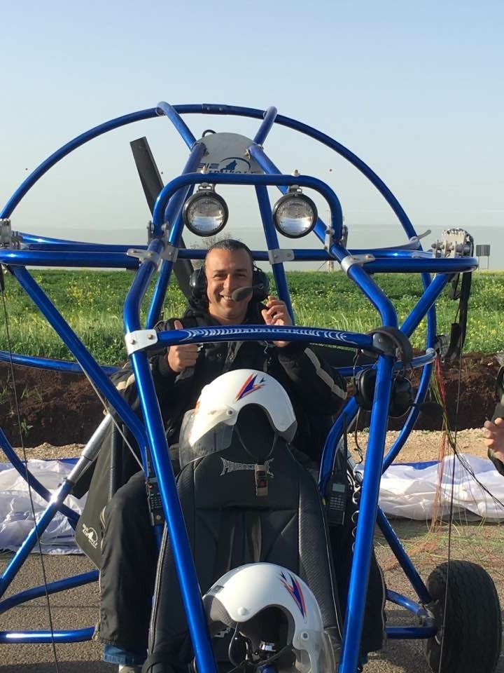 Powered Parachute Flight with Holy Land VIP Tours