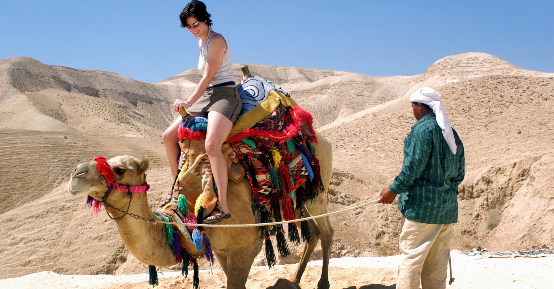 Camel Riding in Israel | Holy Land VIP Tours