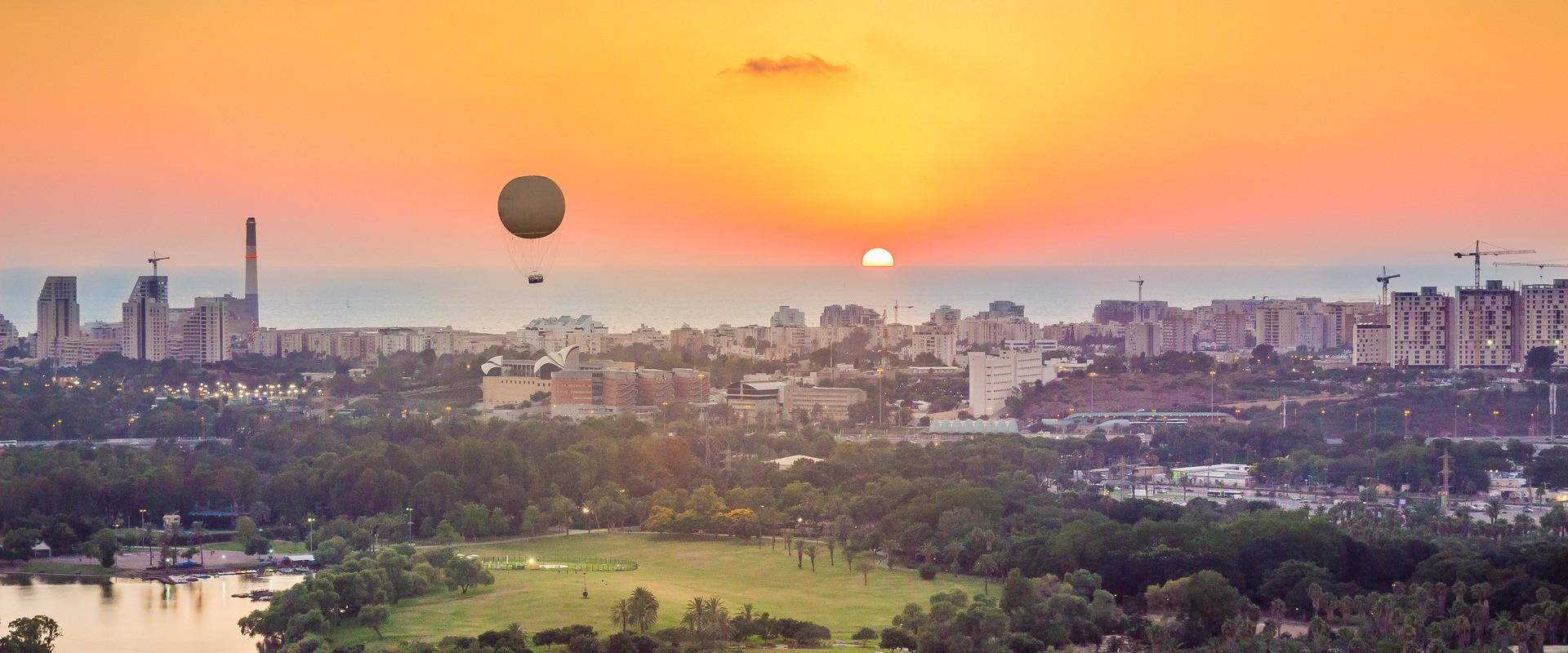Hot Air Balloon Flight in Israel
