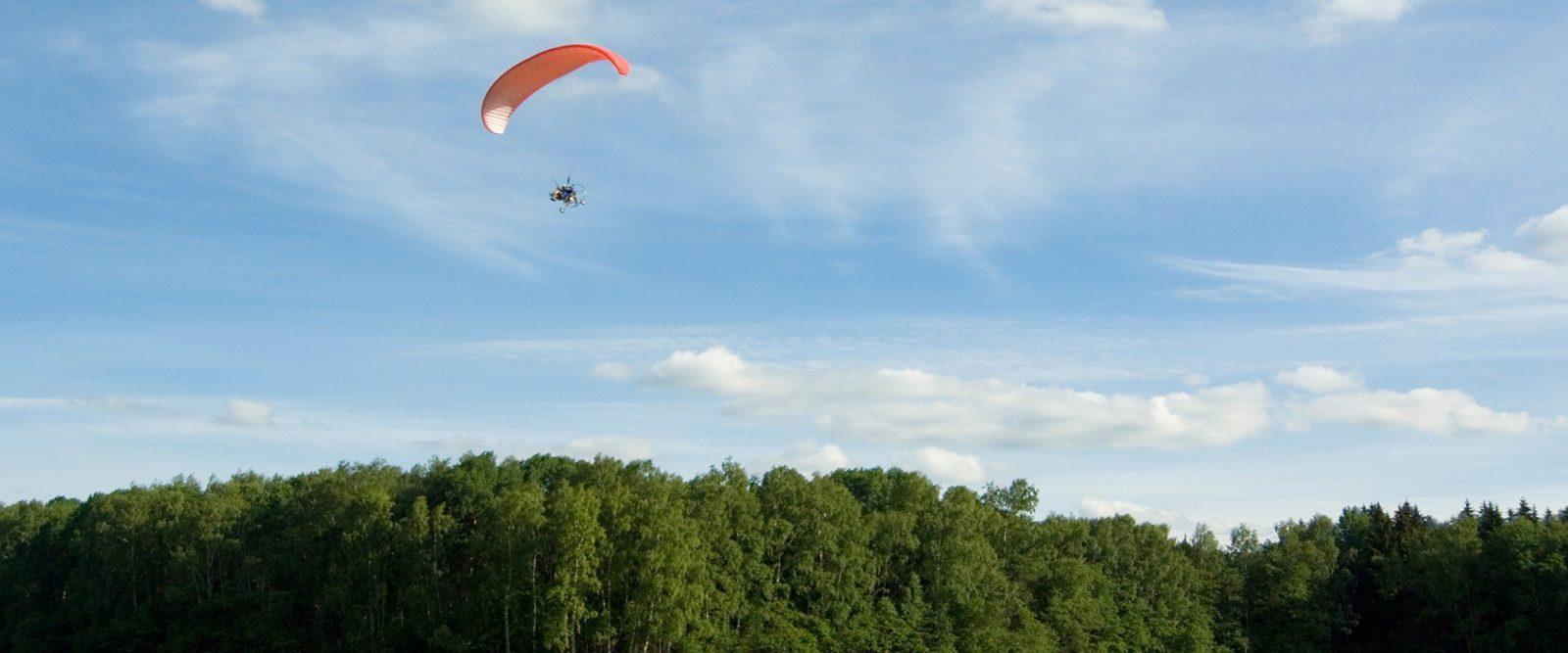 Powered parachute flight in Israel