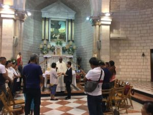 Vow Renewal ceremony in Cana