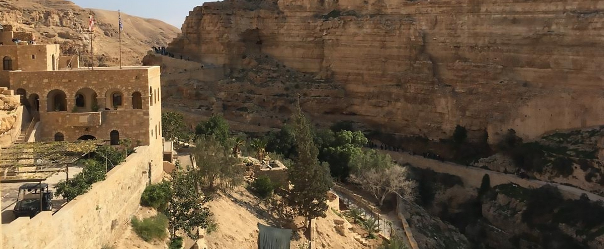 Monastery of Saint George | Jericho churches and Monasteries