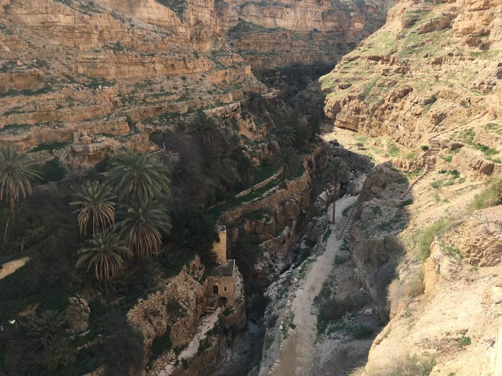 Wadi Qelt in Israel