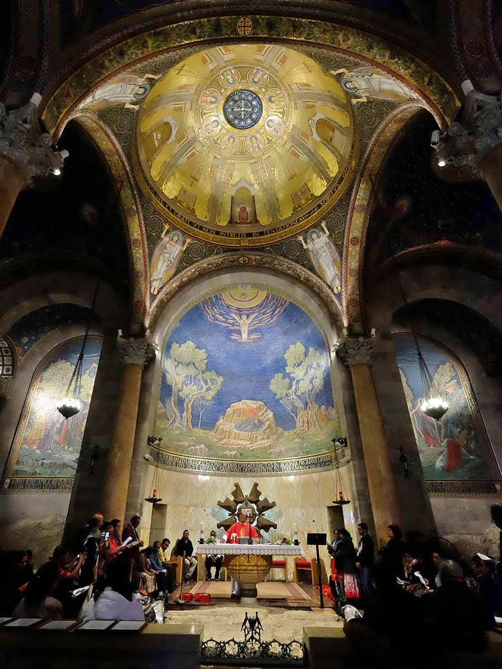 The Agony Basilica in Gethsemane