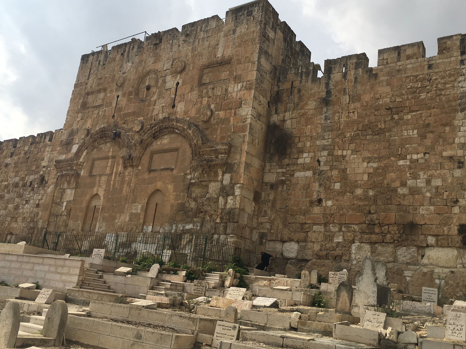 The Golden Gate in Jerusalem