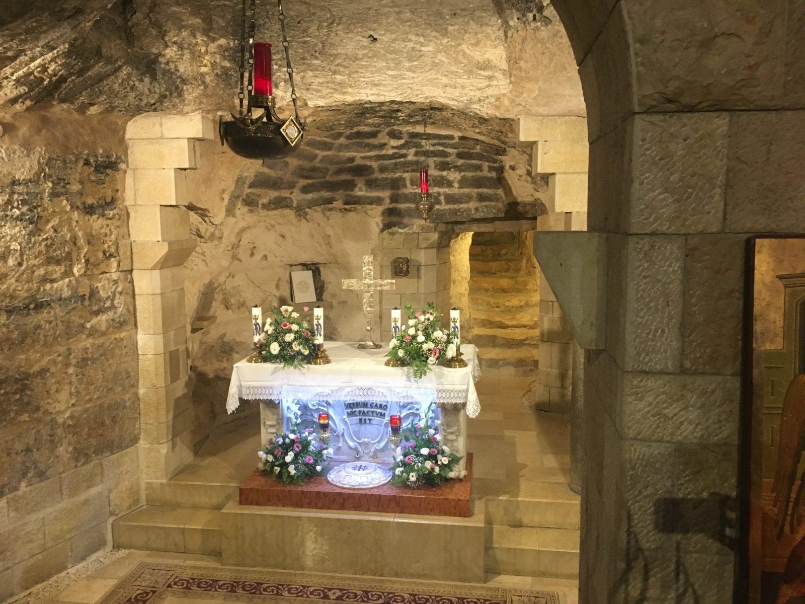 Subterranean chapel Nazareth