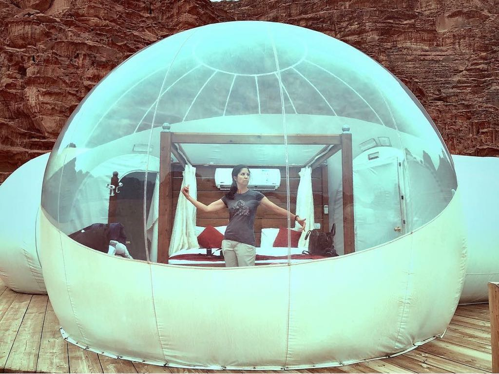 wadi rum bubble tent