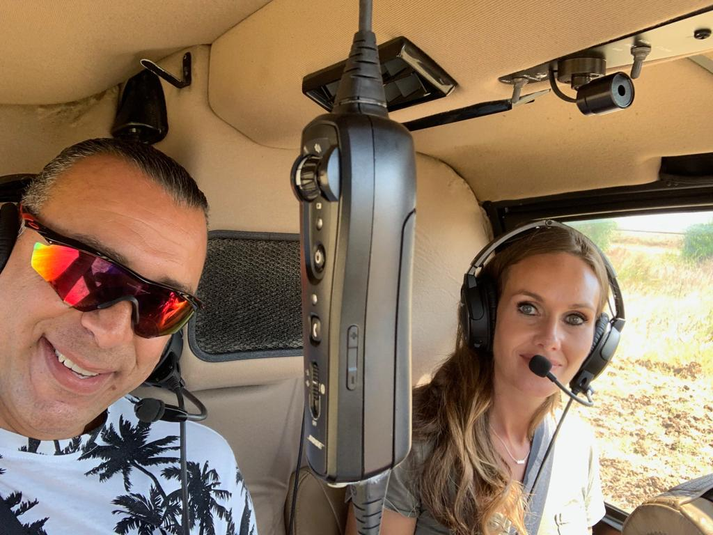 Private Helicopter Tour in Israel with Holy Land VIP Tours