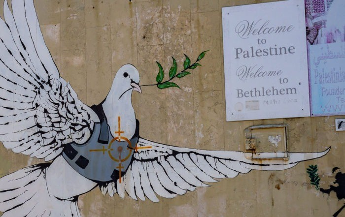 Banks'i Graffiti, Bethlehem, West Bank