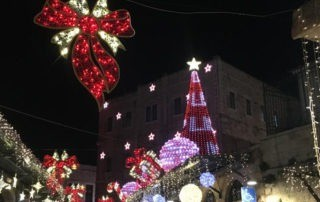 4 best places Holy Land Christmas