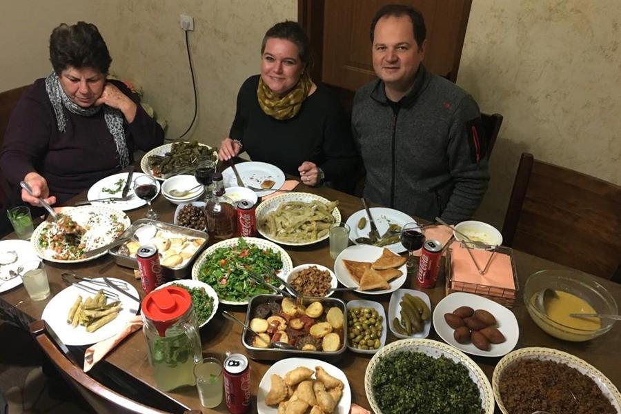 Christian Israeli Palestinian dinner